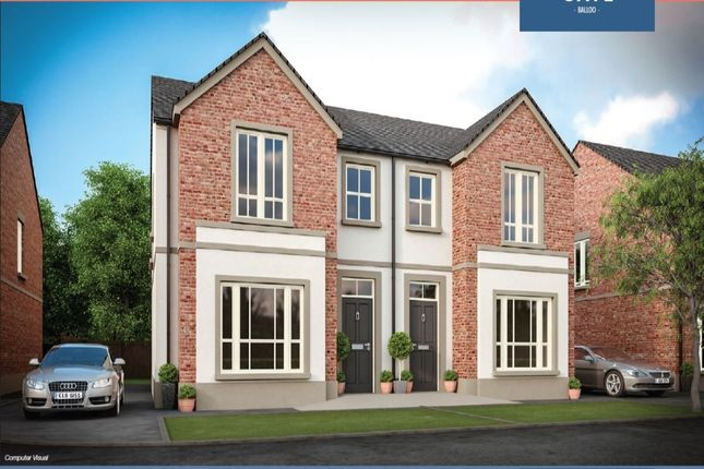 Thumbnail Semi-detached house for sale in Saintfield Road, Killinchy, Newtownards