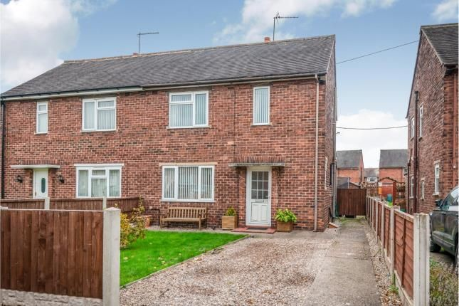 Thumbnail Semi-detached house for sale in John Offley Road, Madeley, Crewe, Staffordshire