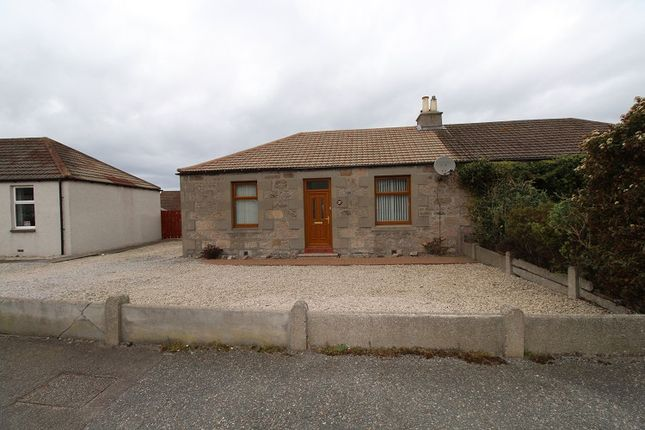 Thumbnail Semi-detached bungalow for sale in Linn Crescent, Buckie