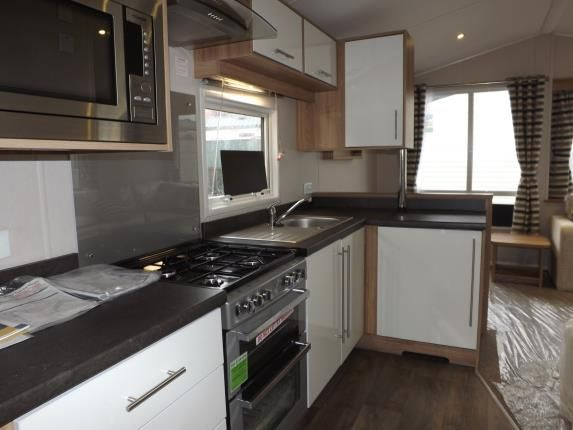 Kitchen of Caravan Park, Acre Moss Lane, Morecambe LA4