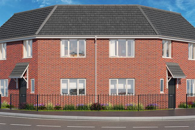 "Thumbnail Property for sale in ""The Mulberry"" at Brook Park East Road, Shirebrook, Mansfield"