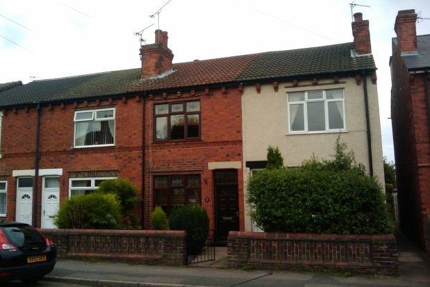 Thumbnail Terraced house to rent in Carnarvon Grove, Huthwaite, Sutton-In-Ashfield