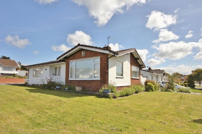 Thumbnail Detached bungalow for sale in Hawks Way, Heswall, Wirral