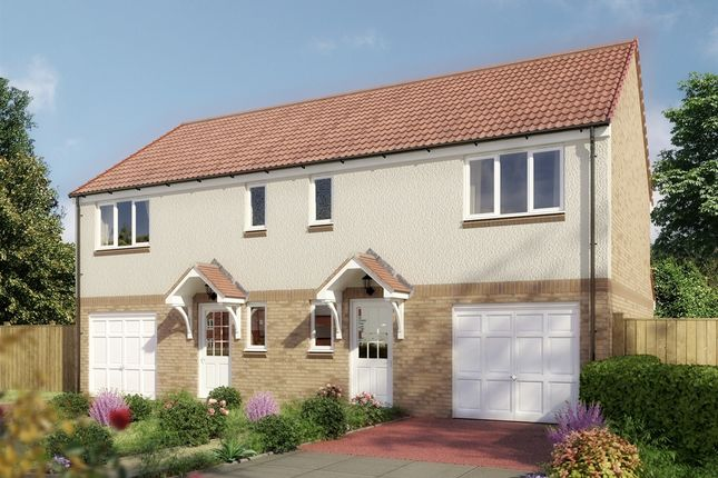 "Thumbnail Semi-detached house for sale in ""The Newton "" at Stable Gardens, Galashiels"