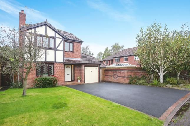 Thumbnail Detached house for sale in Hayfield Close, Tytherington, Macclesfield, Cheshire