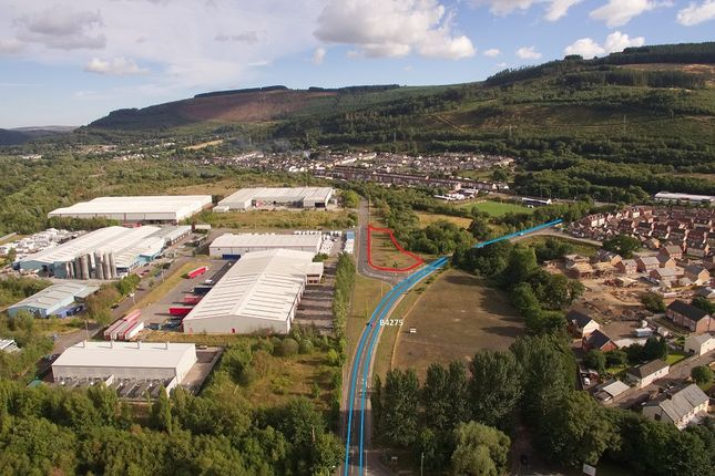 Thumbnail Land for sale in Aberaman Park Industrial Estate, Aberaman