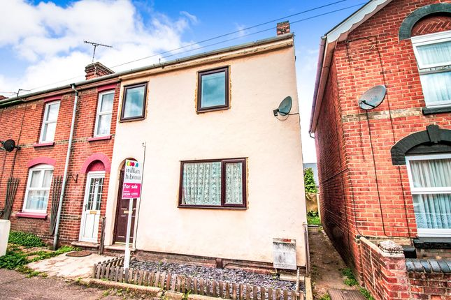 Thumbnail End terrace house for sale in Victor Road, Colchester