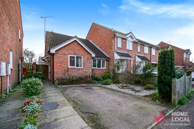 Thumbnail Bungalow for sale in Albrighton Croft, Highwoods, Colchester