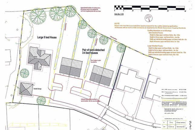 Thumbnail Property for sale in Plots At Caer Wylan, Cefnllan, Llanbadarn Fawr, Aberystwyth