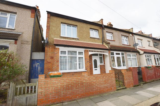 Thumbnail End terrace house for sale in Wall End Road, East Ham, London