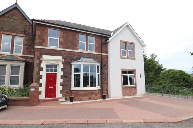 Thumbnail End terrace house for sale in York Road, Stanwix, Carlisle