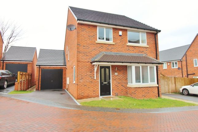 Thumbnail Detached house for sale in Newsome Close, Wombwell, Barnsley