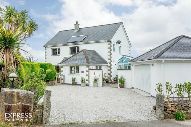 Thumbnail Detached house for sale in Higher Trewidden Road, St Ives, Cornwall