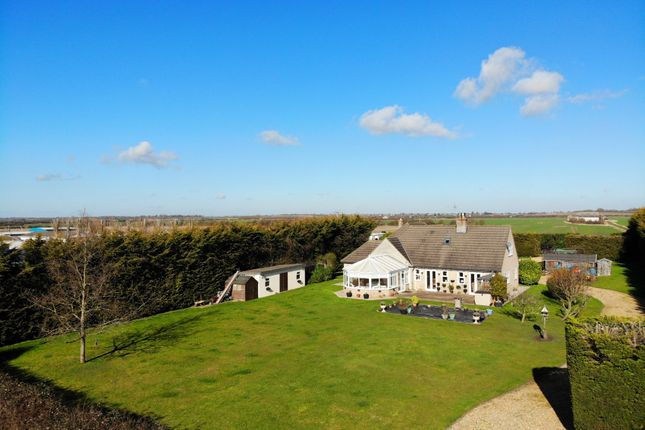 Thumbnail Detached house for sale in Whitecross Road, Wilburton, Ely