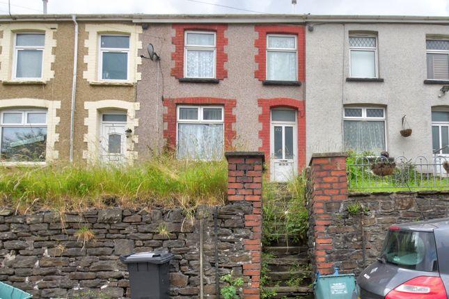 Thumbnail Terraced house for sale in Bryntaf, Aberfan, Merthyr Tydfil