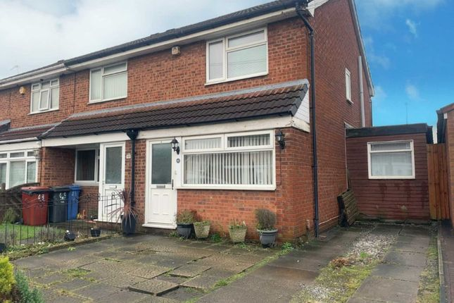 Thumbnail End terrace house to rent in Denise Road, Fazakerley