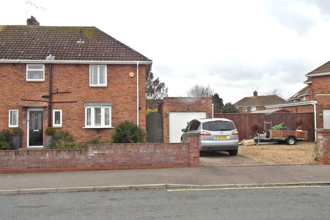 Thumbnail Semi-detached house for sale in Rosemary Avenue, Felixstowe