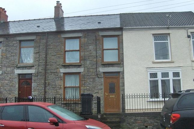 Thumbnail Terraced house for sale in Cannon Street, Brynamman, Ammanford, Carmarthenshire.