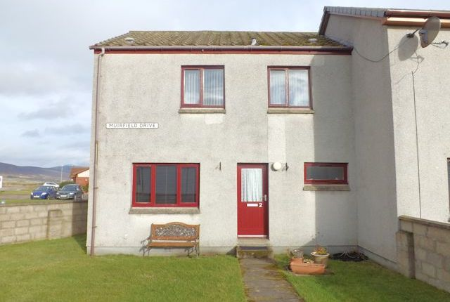 Thumbnail End terrace house for sale in 2 Muirfield Drive, Brora