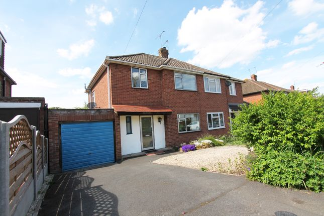 Thumbnail Semi-detached house to rent in Stirling Avenue, Leamington Spa