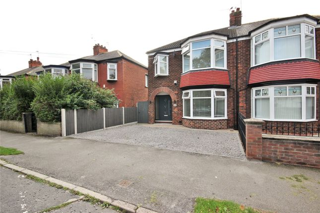 Thumbnail Semi-detached house for sale in Kenilworth Avenue, Hull