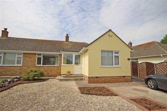 Thumbnail Semi-detached bungalow for sale in Lakes Close, Copythorne, Brixham
