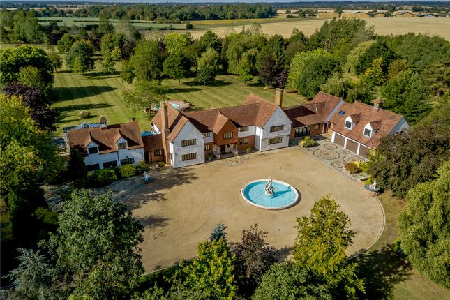Thumbnail Detached house for sale in Pharisee Green, Dunmow, Essex