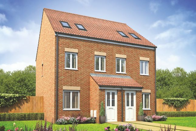 """3 bed terraced house for sale in """"The Sutton"""" at Adlam Way, Salisbury SP2"""