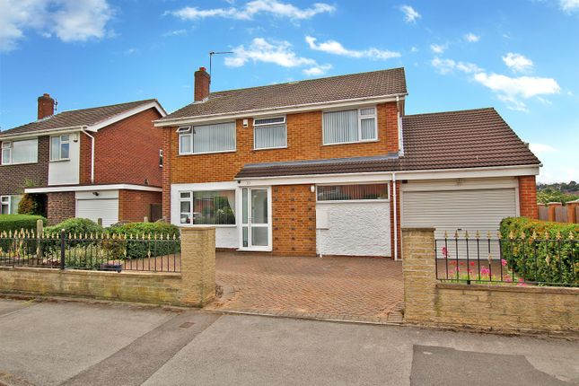 Thumbnail Detached house for sale in Aylesham Avenue, Arnold, Nottingham