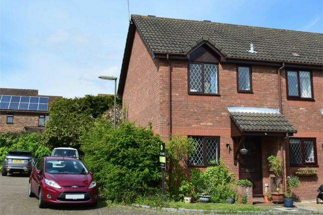 Thumbnail End terrace house for sale in Membury Close, Frimley, Camberley, Surrey