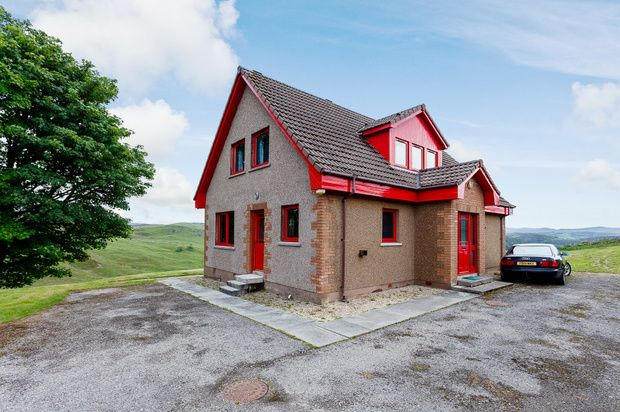 Thumbnail Detached house for sale in Rogart, Rogart