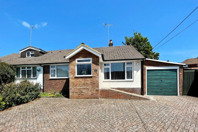 Thumbnail Semi-detached bungalow for sale in Western Dene, Hazlemere, High Wycombe