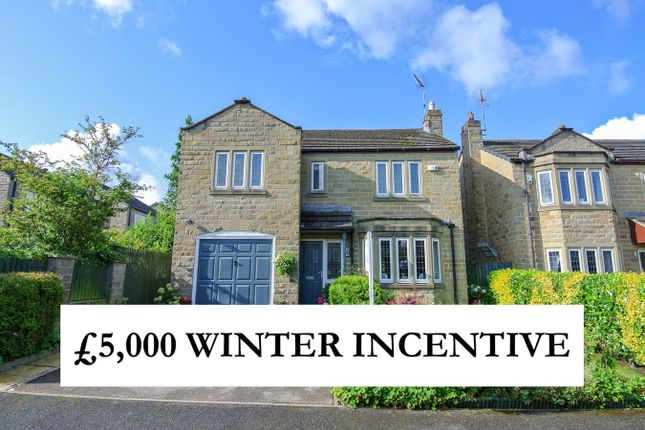 Thumbnail Detached house for sale in Honey Head Lane, Honley, Holmfirth