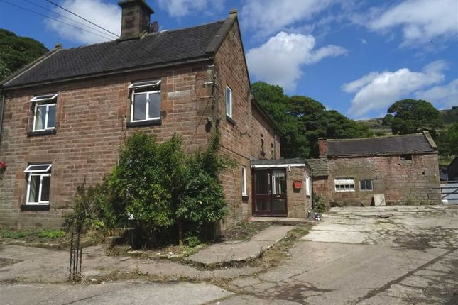 Thumbnail Detached house for sale in Meerbrook, Leek, Staffordshire