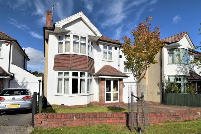 Thumbnail Detached house for sale in Kewstoke Road, Stoke Bishop, Bristol