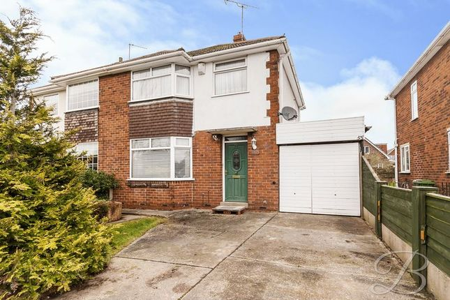 Thumbnail Semi-detached house for sale in Beresford Road, Mansfield Woodhouse, Mansfield