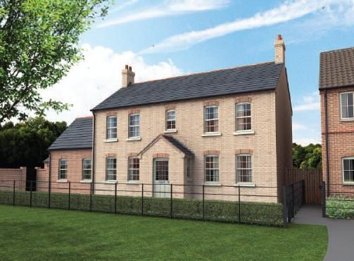 Thumbnail Detached house for sale in The Grange, Off Heath Road, Scothern, Lincolnshire