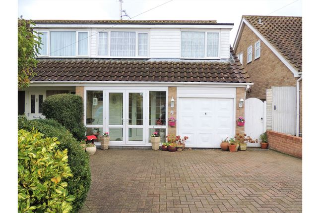 Thumbnail Semi-detached house for sale in Oak Drive, Rochester