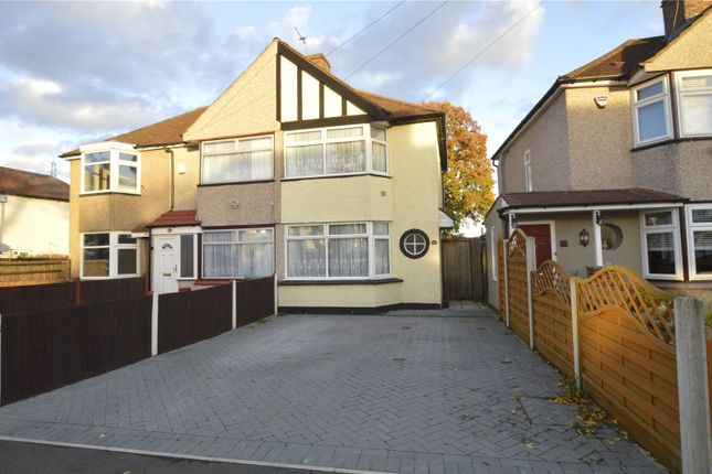 Thumbnail Semi-detached house to rent in Burns Avenue, Sidcup, Kent