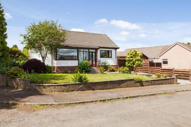 Thumbnail Bungalow for sale in Donaldfield Road, Bridge Of Weir, Renfrewshire