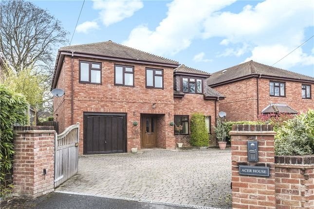 Thumbnail Detached house for sale in Simons Lane, Wokingham, Berkshire
