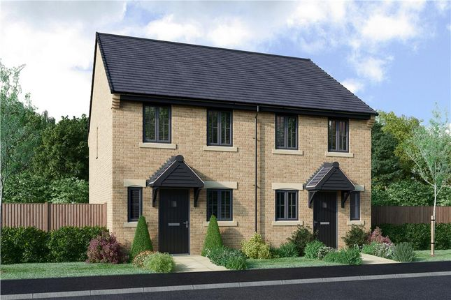 """Thumbnail Semi-detached house for sale in """"The Burroughs Alternative"""" at Armstrong Street, Callerton, Newcastle Upon Tyne"""