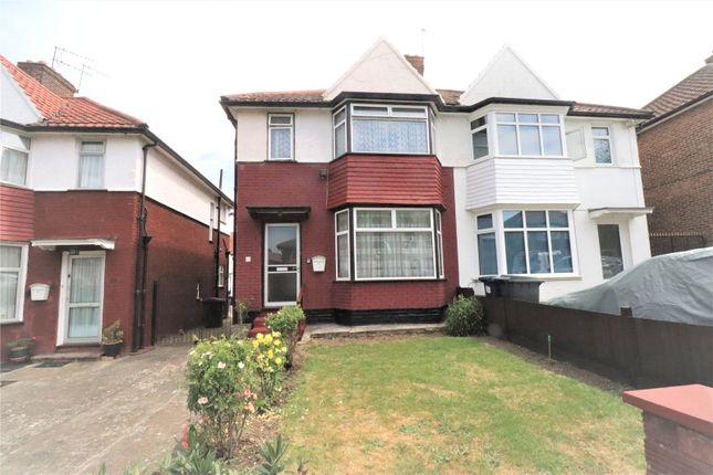 Thumbnail Semi-detached house for sale in Sheaveshill Avenue, Colindale, London