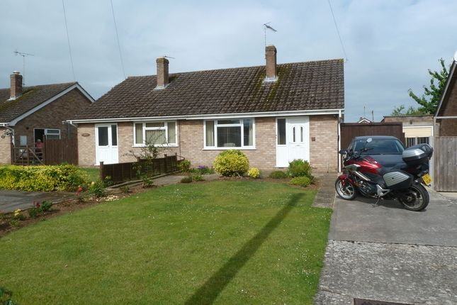 Thumbnail 2 bedroom semi-detached bungalow for sale in Simon Road, Gloucester