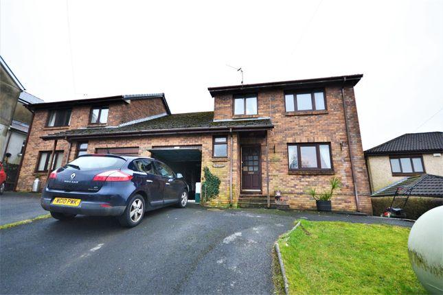 Semi-detached house for sale in Heddfan Llannon Road, Pontyberem, Llanelli