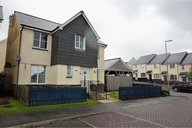 Thumbnail Detached house for sale in Carwollen Road, St. Austell