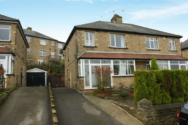 Thumbnail Semi-detached house for sale in Manor Drive, Bingley, West Yorkshire