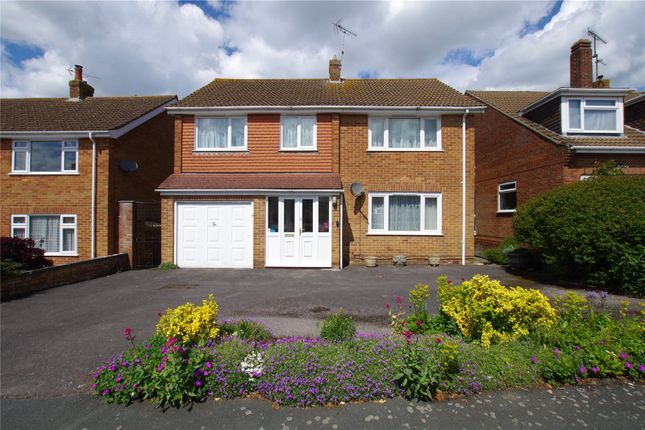 Thumbnail Detached house for sale in Canterbury Close, Lawn, Swindon, Wiltshire