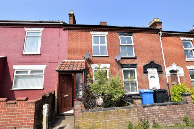Thumbnail Terraced house for sale in Silver Road, Norwich