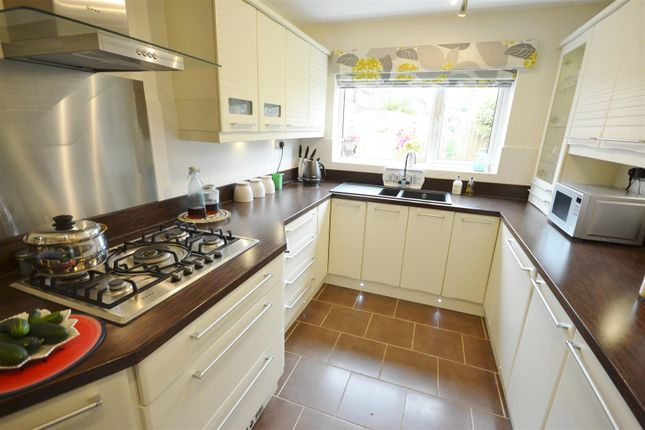 Thumbnail Semi-detached house for sale in Rockingham Close, Blaby, Leicester